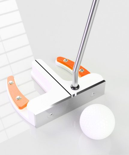 der stehende Putter Orange